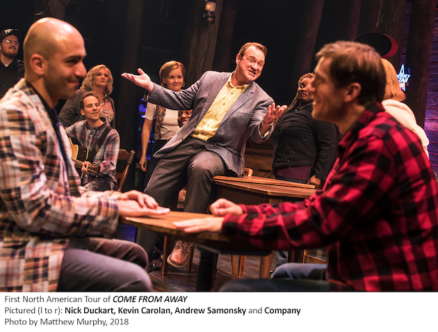 Nick Duckart Kevin Carolan Andrew Samonsky Come From Away