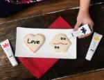 Decorating Valentines Cookies