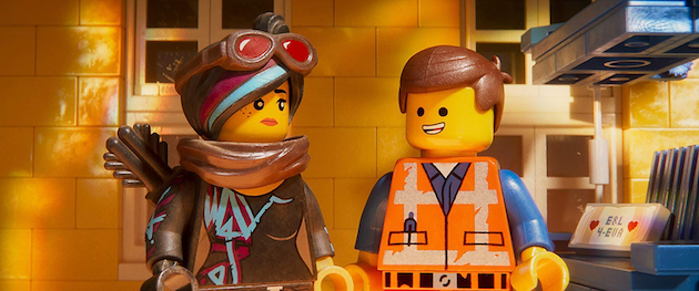 Emmet and Lucy The LEGO Movie