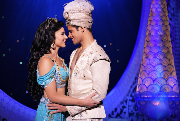 Princess Jasmine and Aladdin