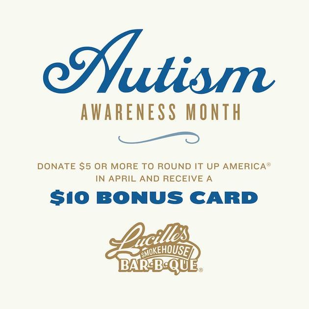 Autism Awareness Bonus Card