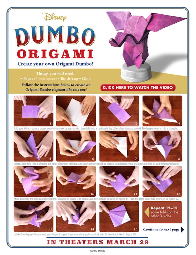 Dumbo Origami 1