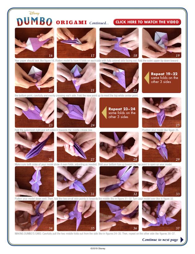 Dumbo Origami 2