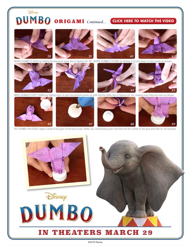 Dumbo Origami 3