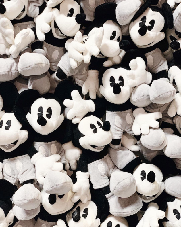 Plush Mickey Wall