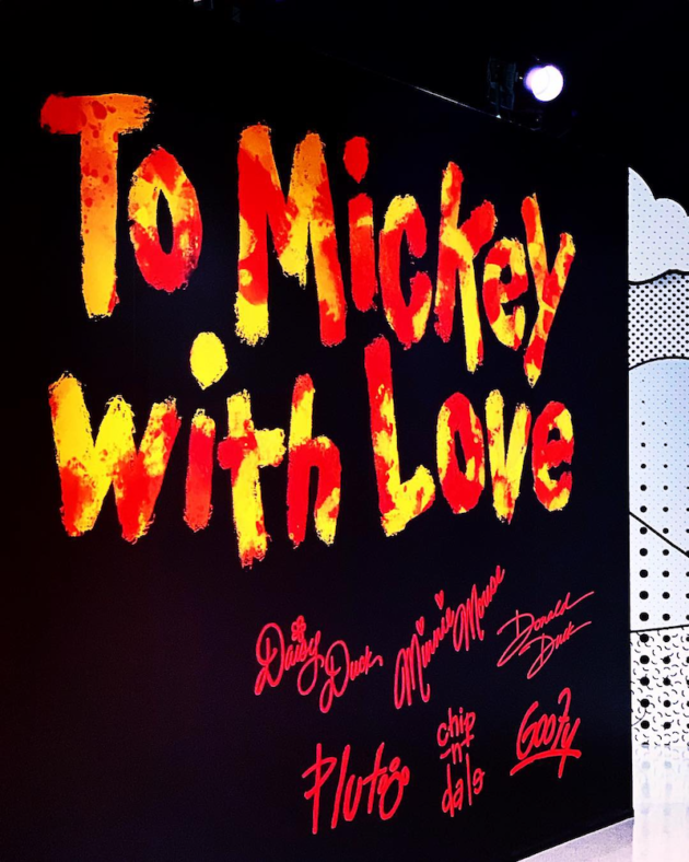 To Mickey With Love