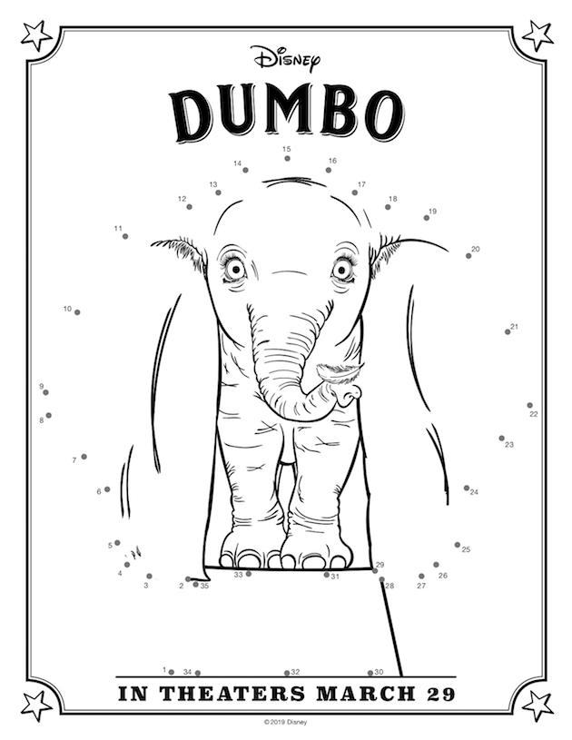 Dumbo Activity Sheet