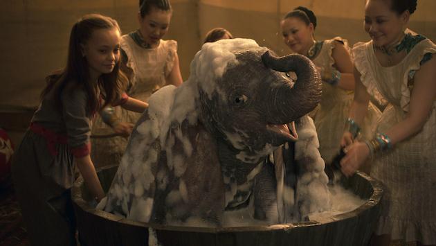 Dumbo Bathtub Scene