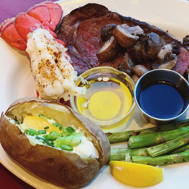 Prime Rib and Lobster Dinner