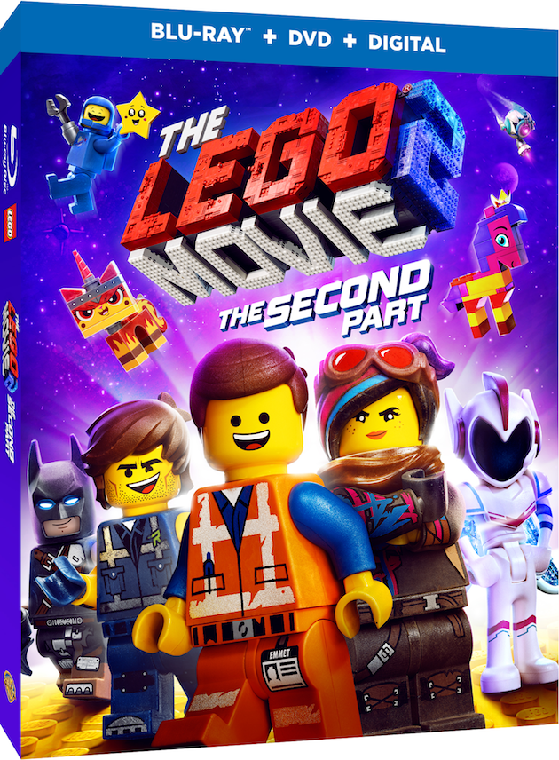 The Lego Movie 2 The Second Part DVD
