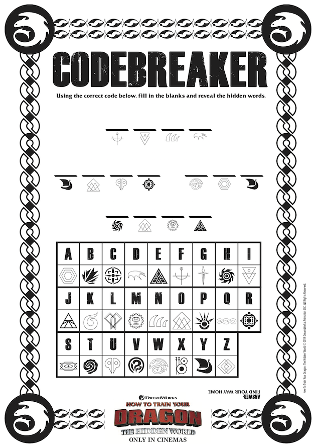 How to Train Your Dragon Code Breaker