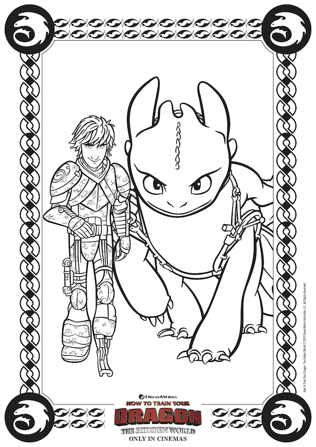 How to Train Your Dragon Hidden World Printables