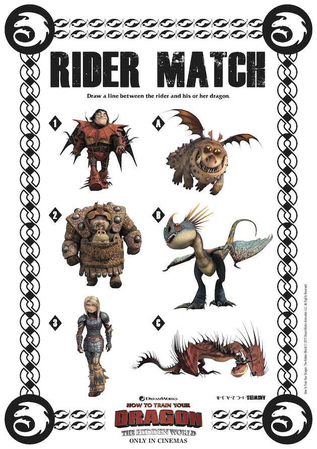 How to Train Your Dragon Rider Match
