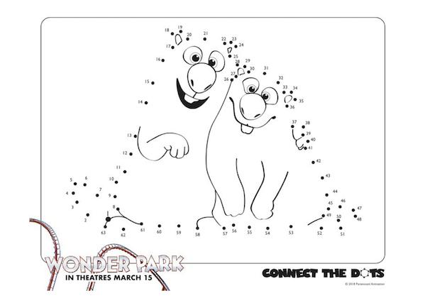 Wonder Park Connect the Dots