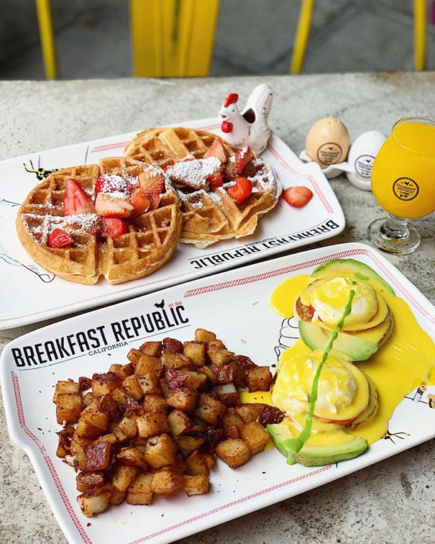 Brunch at Breakfast Republic