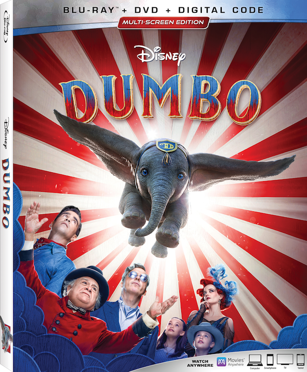 Dumbo on Blu-ray and DVD