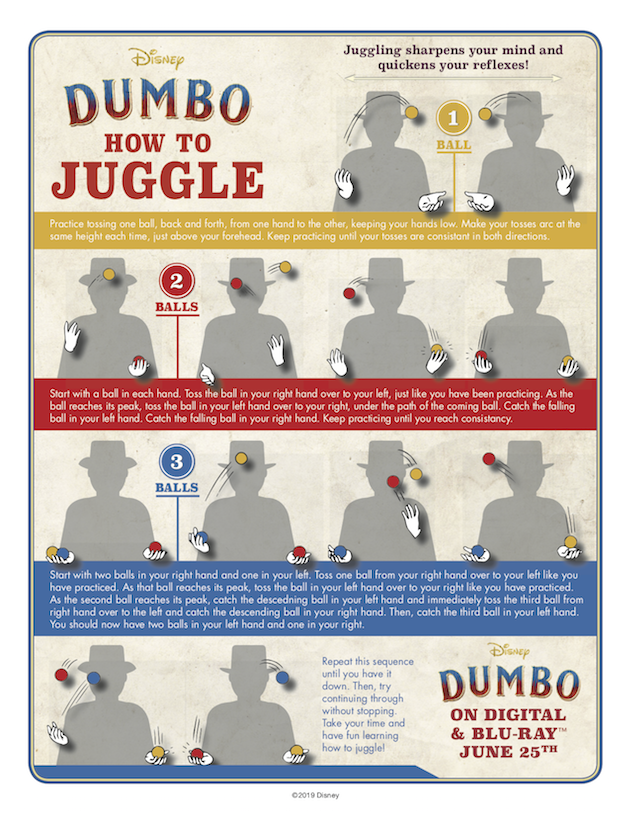 How to Juggle - Dumbo