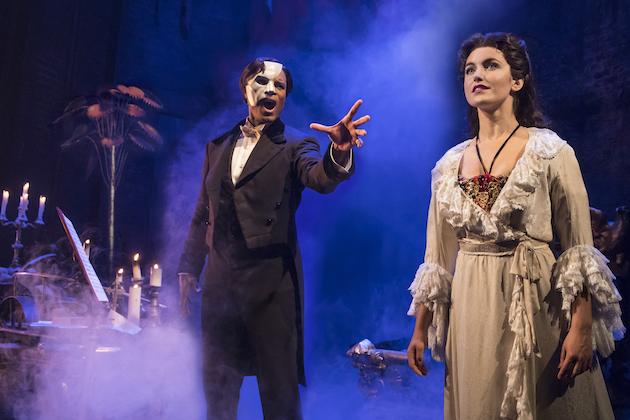 The Phantom Of The Opera Derrick Davis and Eva Tavares