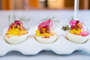 Catal Deviled Eggs
