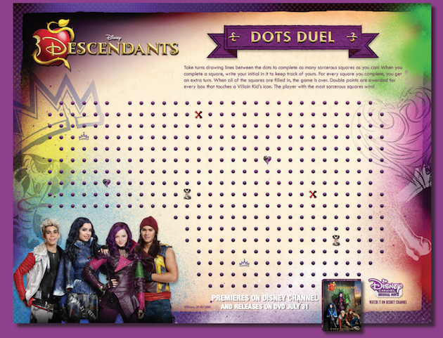 Disney Descendants 3 Printables