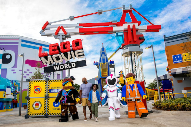 The LEGO Movie World LEGOLAND