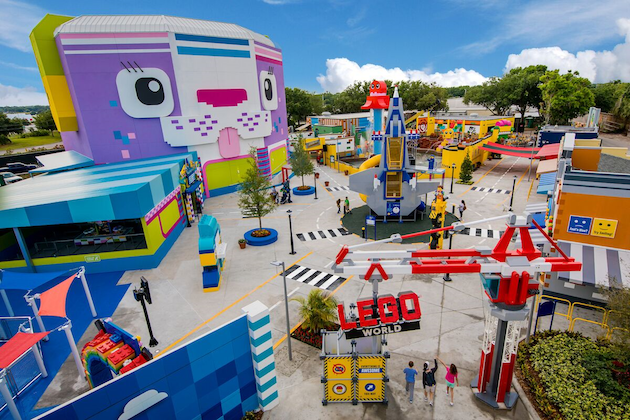 The LEGO Movie World at LEGOLAND