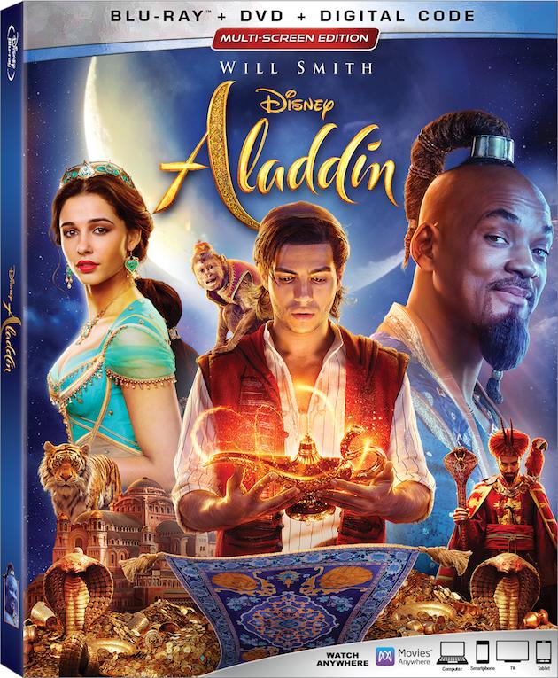 Aladdin Live Action Blu-ray