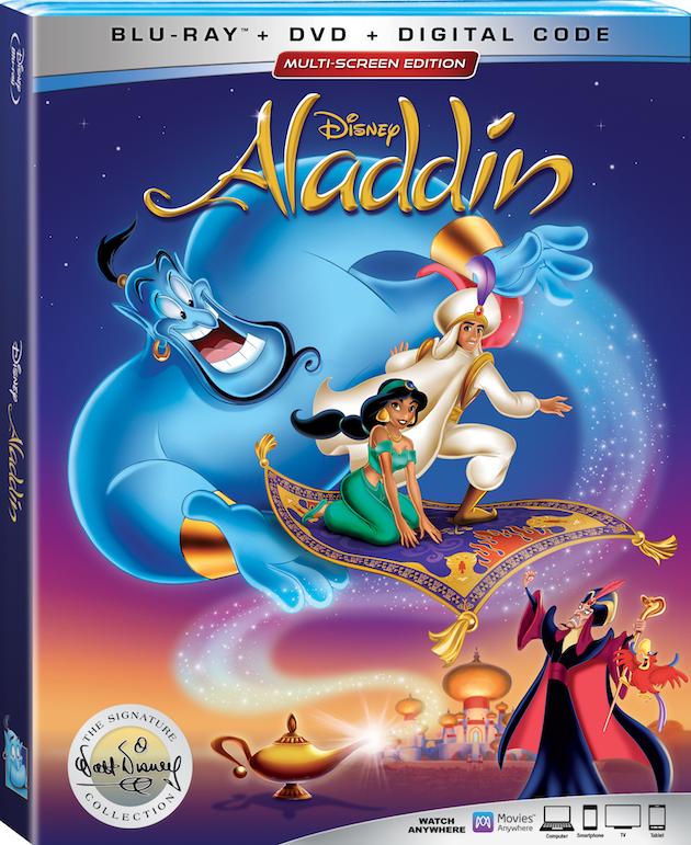 Aladdin Signature Collection Blu-ray