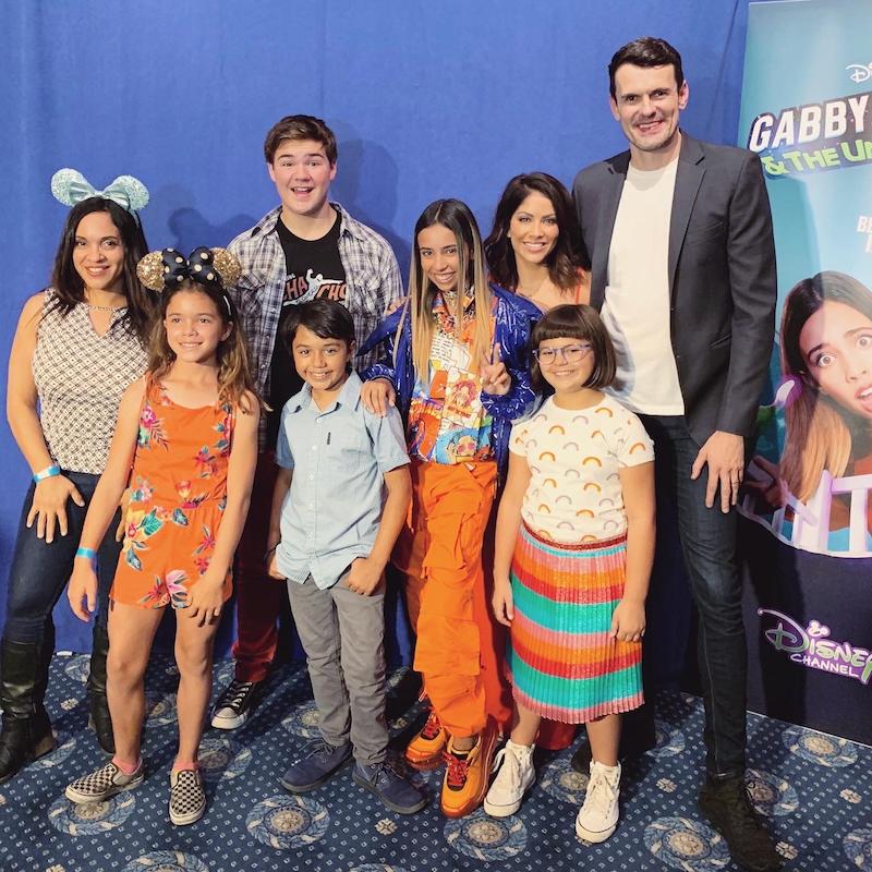 Cast of Gabby Duran
