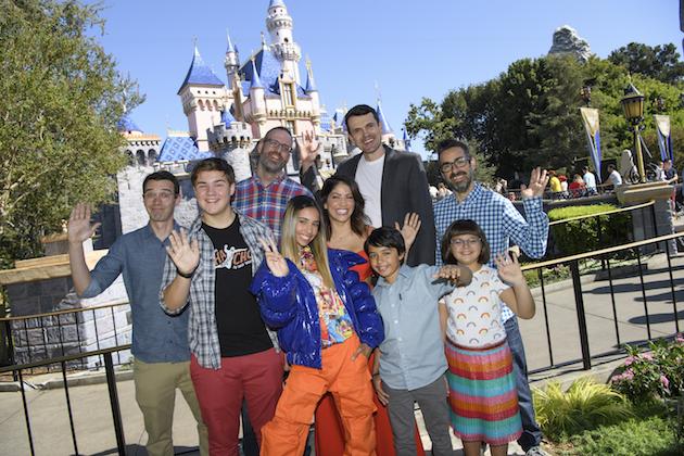 Gabby Duran Cast at Disneyland