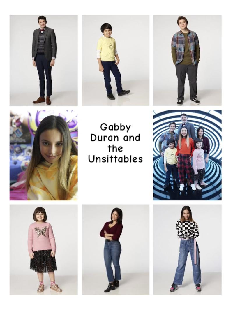 Gabby Duran Pinterest Graphic