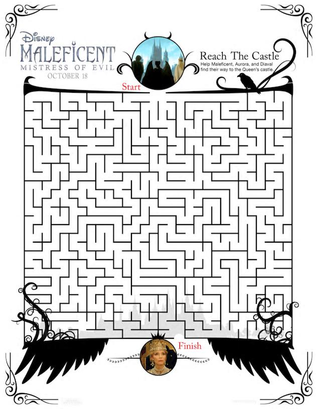 Maleficent Maze
