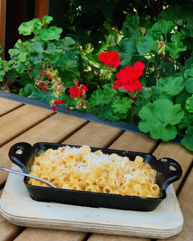 Prosciutto Mac and Cheese