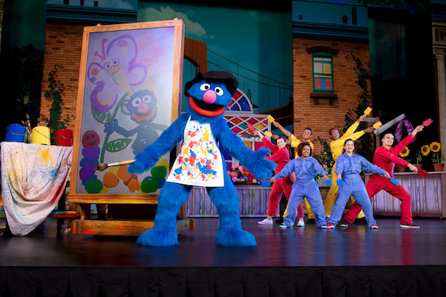 Sesame Street Live Grover and Friends