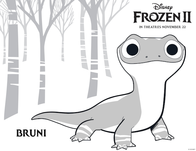 Disney Frozen 2 Printable Bruni
