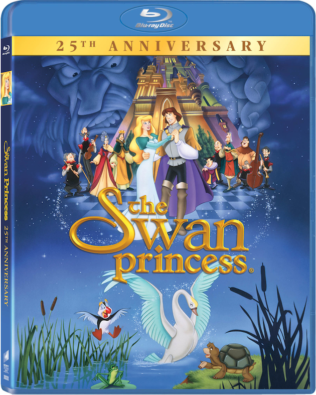 The Swan Princess 25th Anniversary Blu-ray