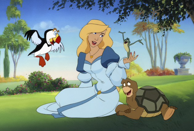 The Swan Princess Still