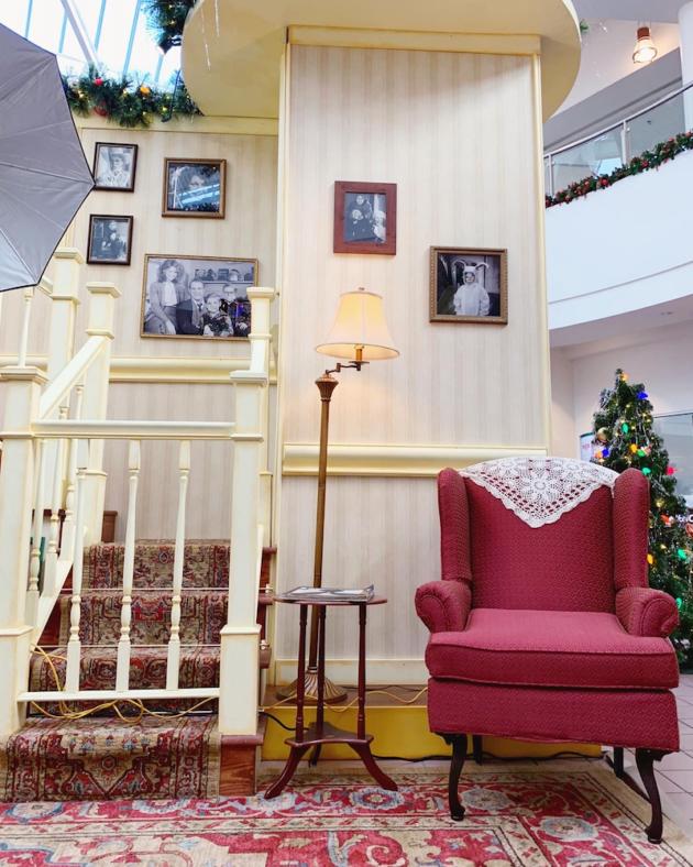 A Christmas Story Living Room