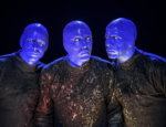 Blue Man Group On Stage