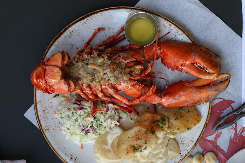 Bluewater Holiday Stuffed Lobster