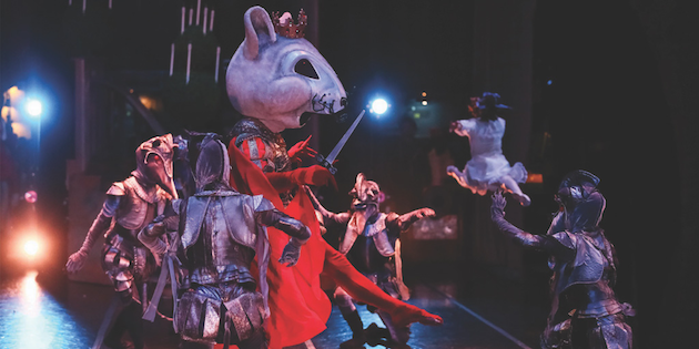 Mouse King in The Nutcracker
