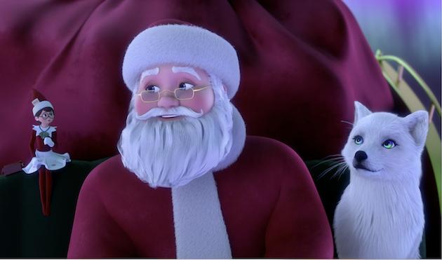 Santa and Scout Elf