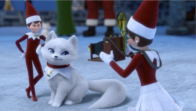 Scout Elves and Elf Pet