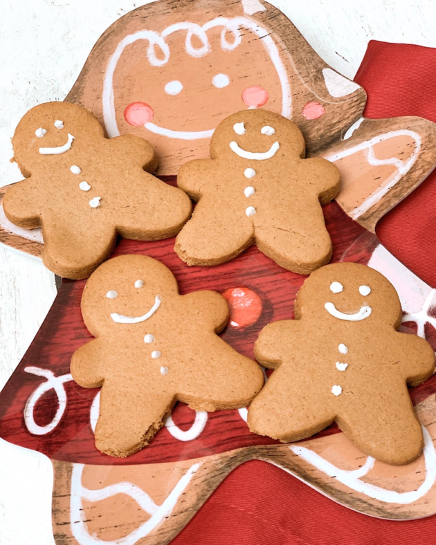 Sweet and Spicy Gingerbread Cookies