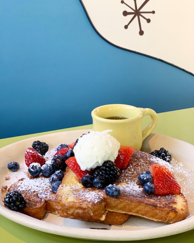 Snooze French Toast Neat