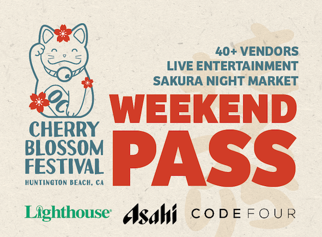 Cherry Blossom Festival Weekend Pass