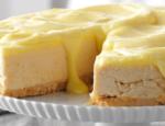 Lemon Shortbread Cheesecake