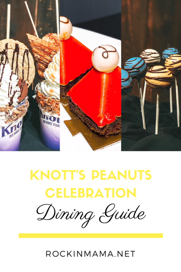 Peanuts Celebration Dining Guide