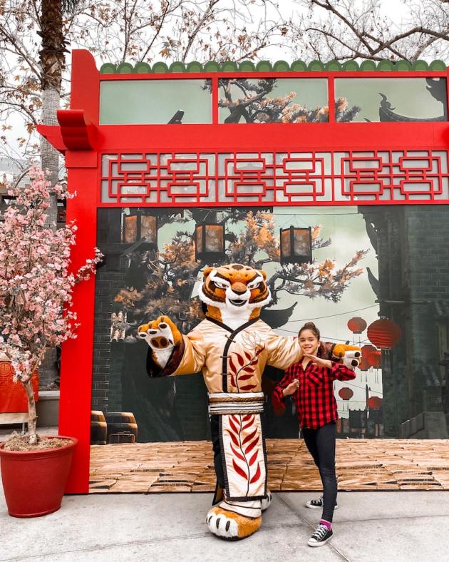 Tigress at Universal Studios