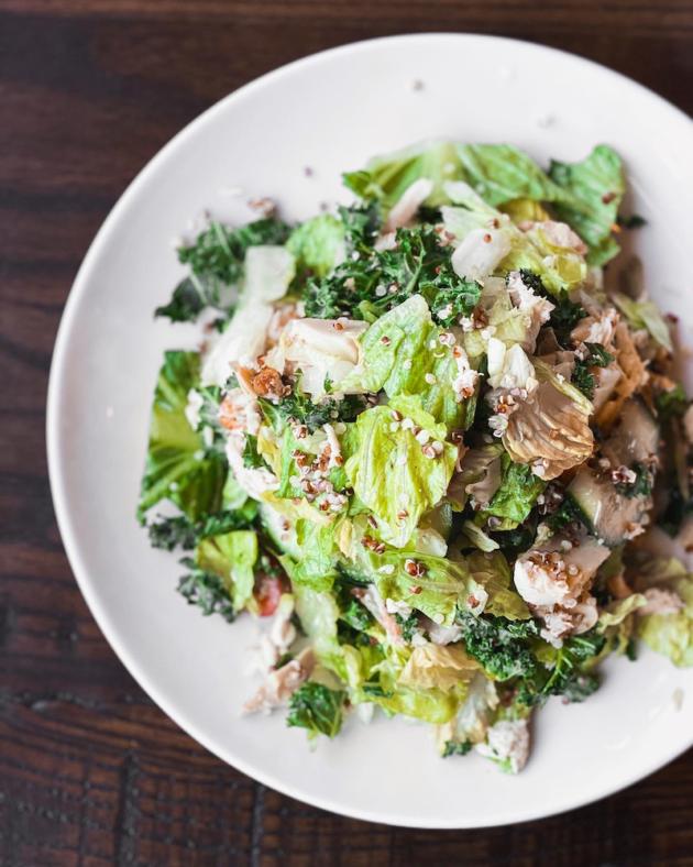 Chicken and Quinoa Mediterranean Salad